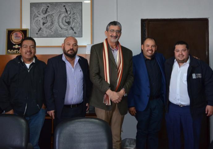 Reunión de Trabajo con el Presidente Municipal de Poanas, Dgo.