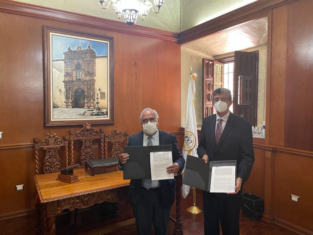 FIRMAN CONVENIO DE COLABORACIÓN  UJED Y FISCALÍA ANTICORRUPCIÓN
